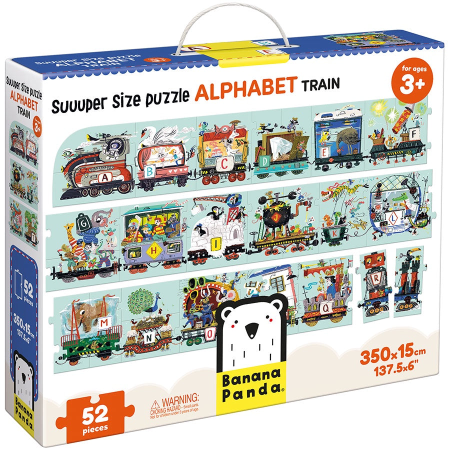 Image of Suuuper Size Alphabet Train Puzzle