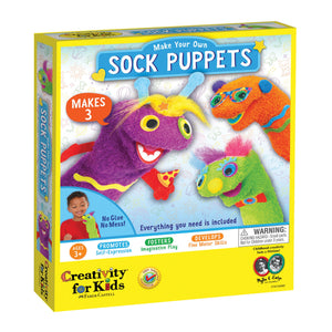 Image of Make Your Own Sock Puppets Packaging