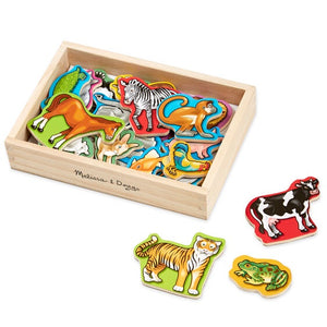 Image of Wooden Animal Magnets from Melissa & Doug