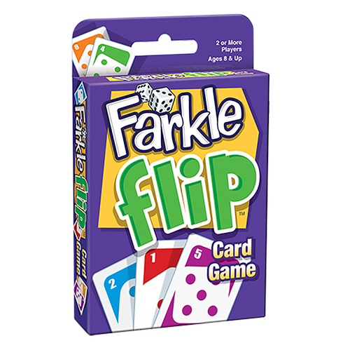 Image of Farkle Flip card game packaging