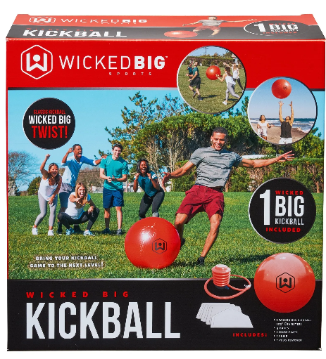 Image of Wicked Big Kickball packaging