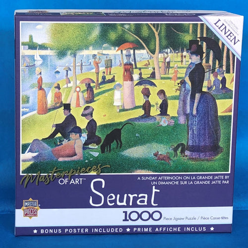 Image of A Sunday Afternoon puzzle packaging