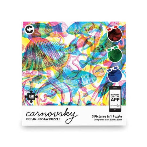 Image of 500 Pc Carnovsky Ocean Jigsaw Puzzle