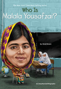 Image of Who Is Malala Yousafzai? book cover