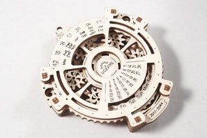 Image of UGears Date Navigator model completed