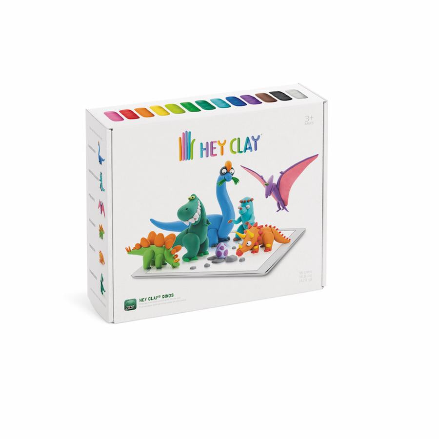 Image of Hey Clay Dinos packaging