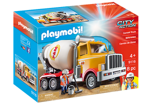 Image of Playmobil Cement Truck