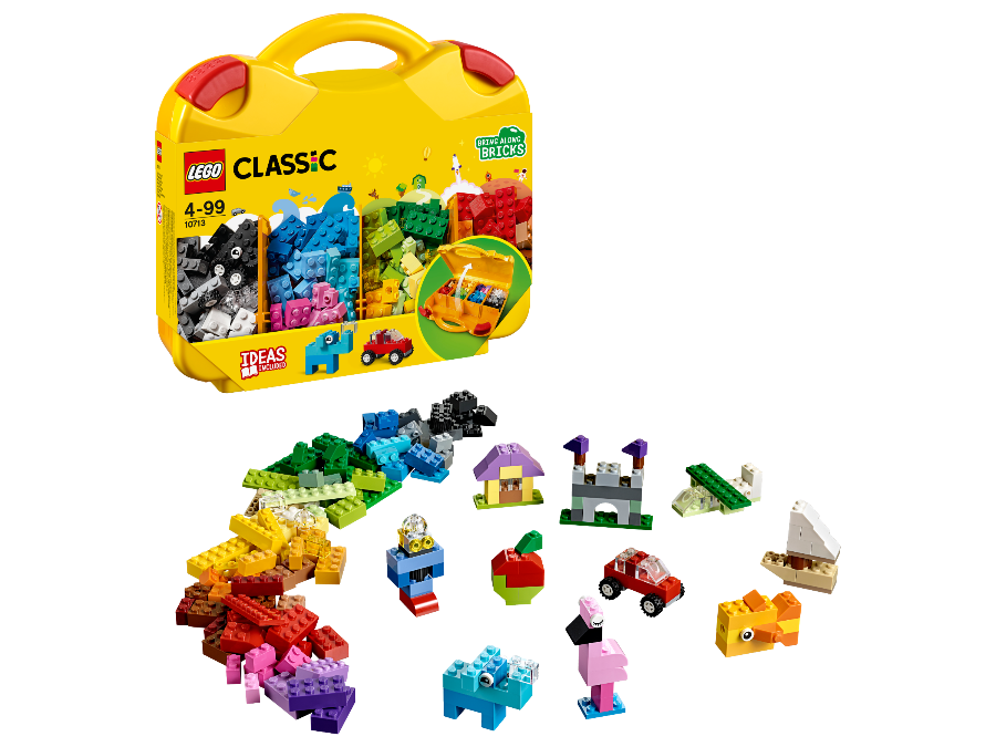 Image of Lego Classic Creative Suitcase and Packaging