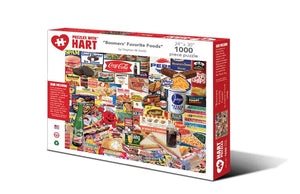 "Image of ""Boomers' Favorite Foods"" puzzle packaging"
