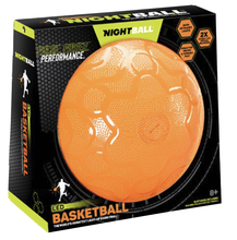 Image of NightBall Basketball in packaging