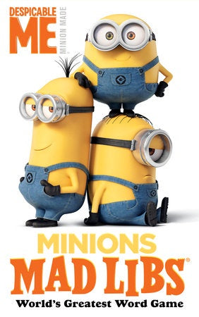 Image of Minions Mad Libs cover