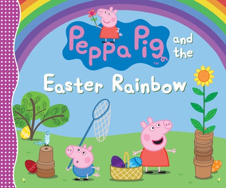 Image of Peppa Pig and the Easter Rainbow cover