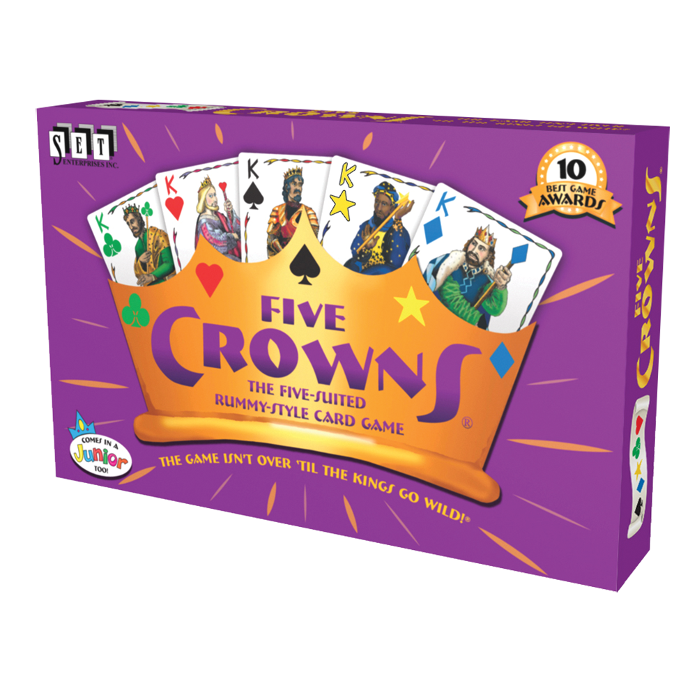 Image of Five Crowns Card Game packaging