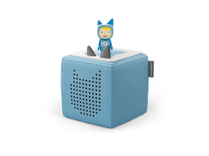 Image of Light Blue Toniebox and Creative-Tonie figure