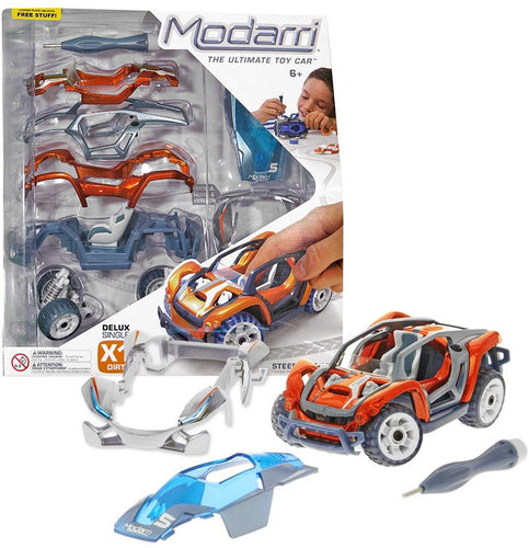 Image of Modarri Delux X1 Dirt Vehicle and Packaging