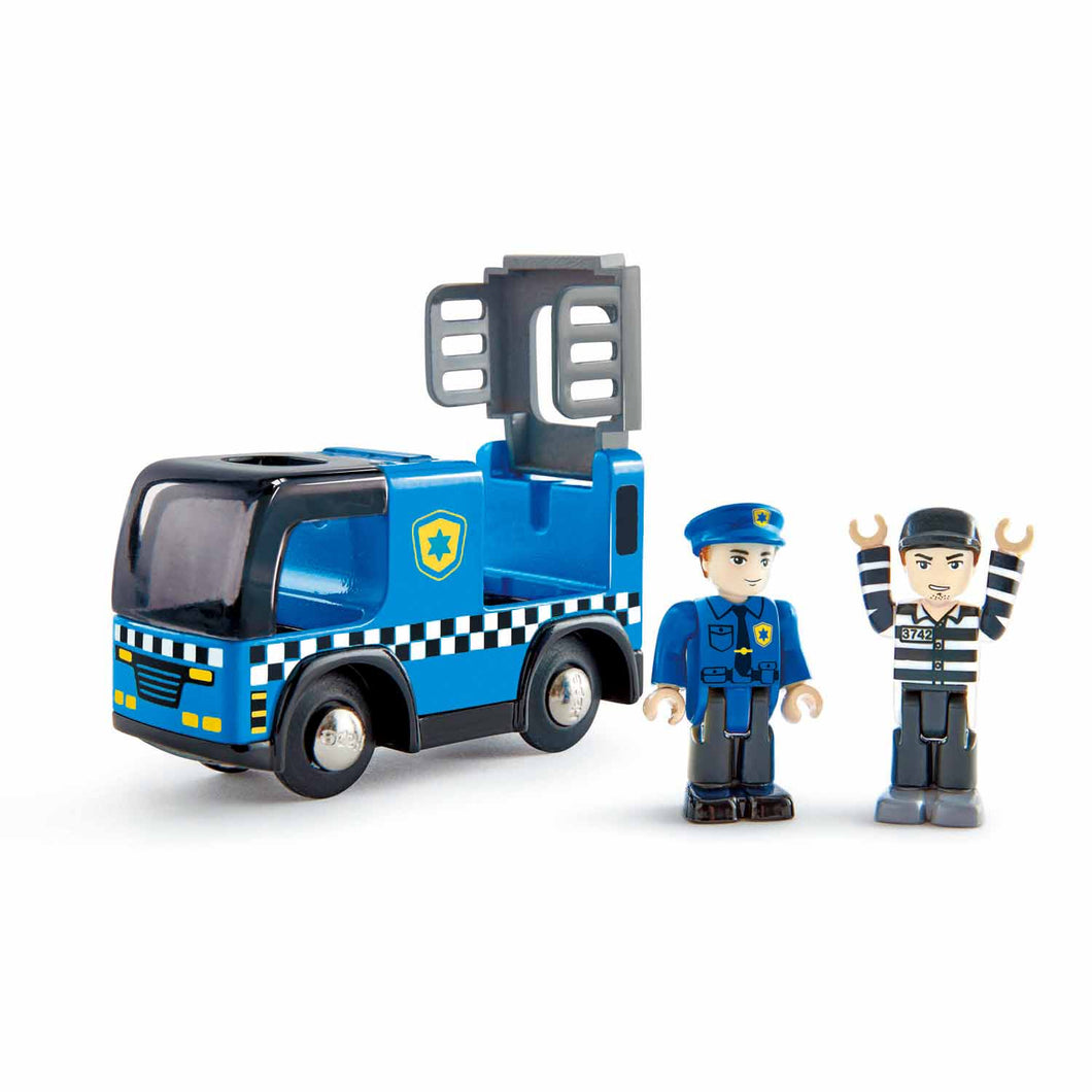 Image of Police Car with Siren
