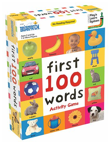 Image of First 100 Words Activity Game
