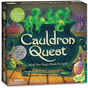 Image of Cauldron Quest Packaging