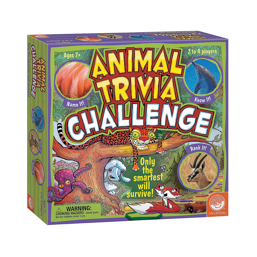 Image of Animal Trivia Challenge Board Game packaging