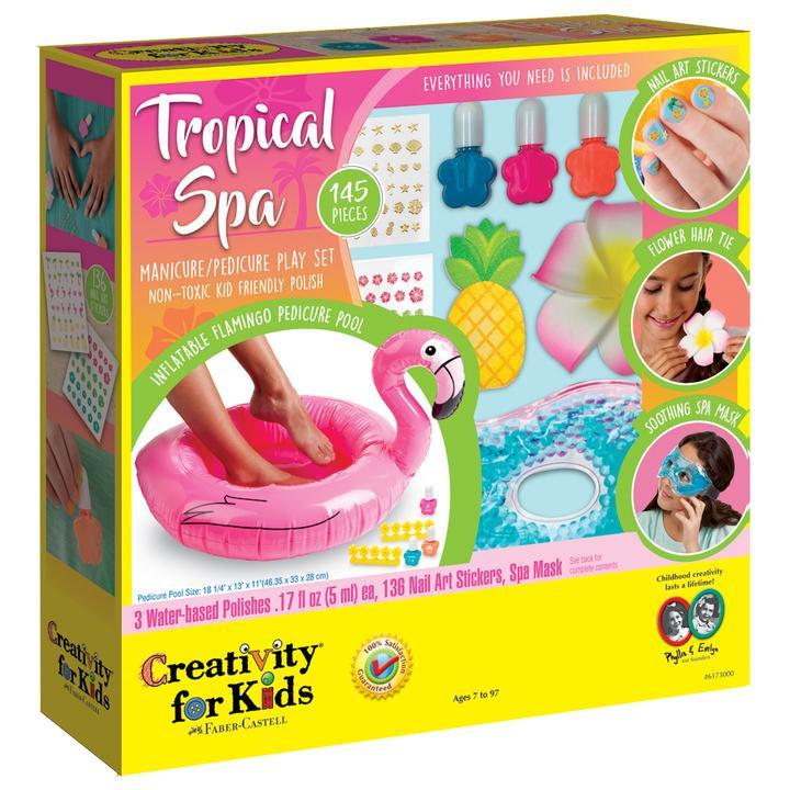 Image of Tropical Spa Packaging
