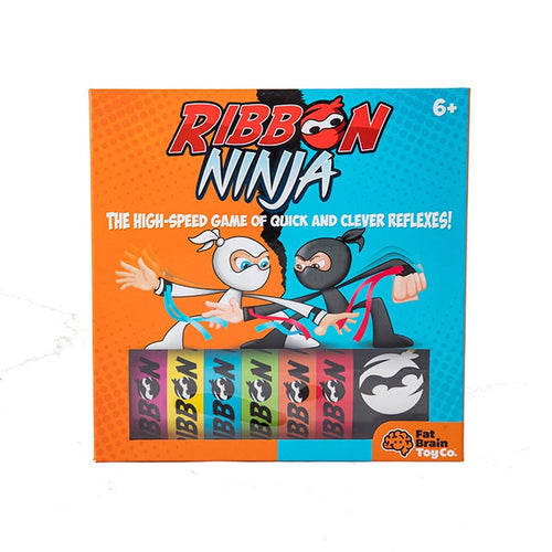 Image of Ribbon Ninja and Packaging