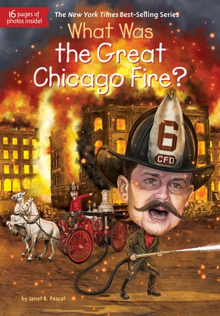 Image of What Was the Great Chicago Fire? book cover