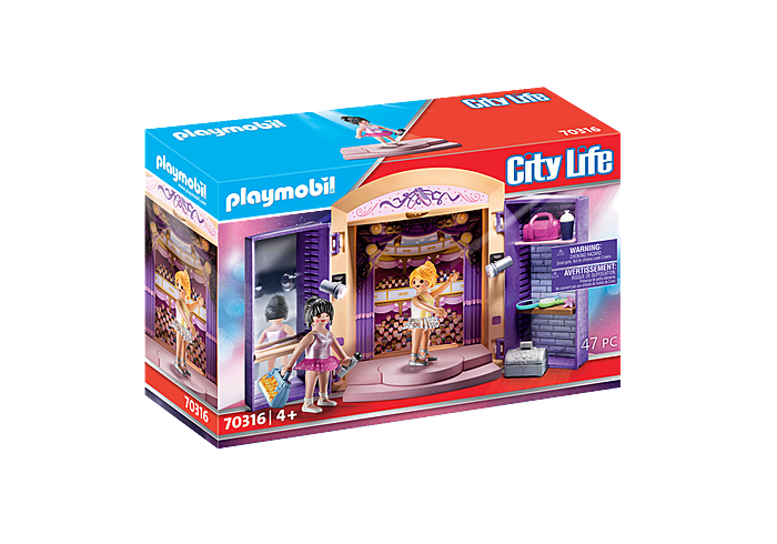 Image of Playmobil Dance Studio Play Box