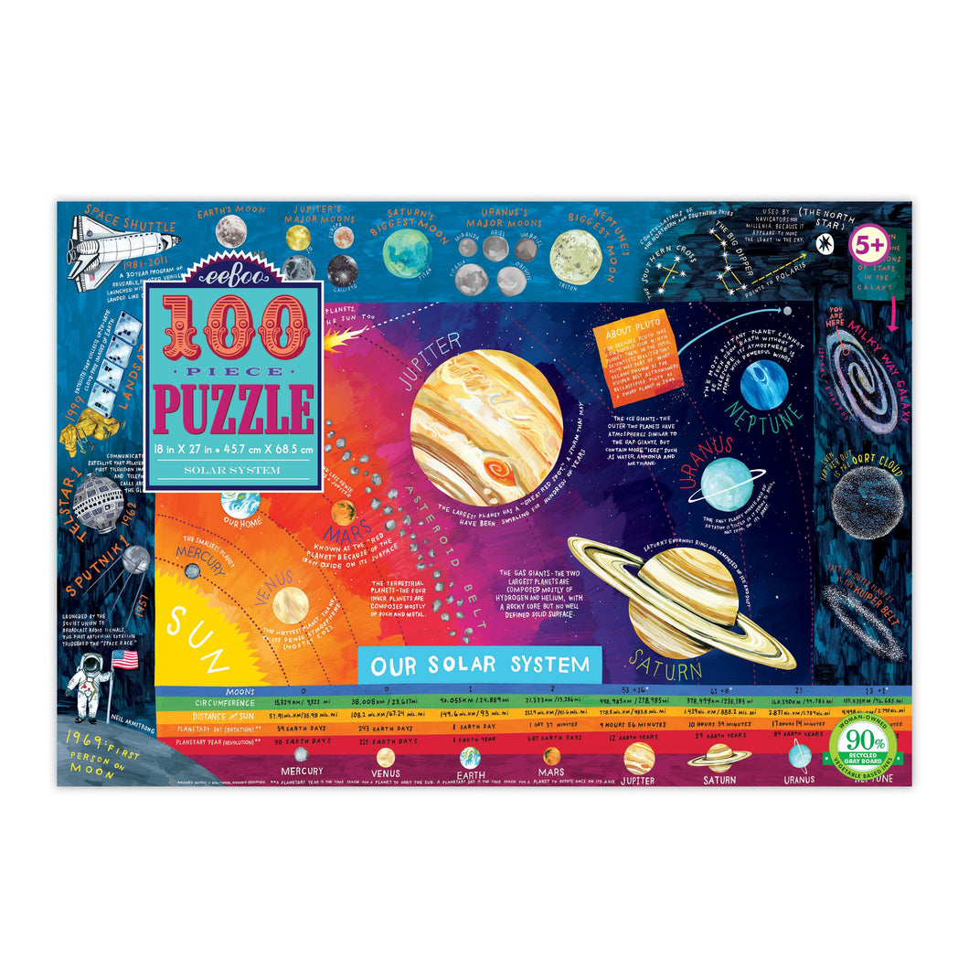 Image of 100 piece Solar System puzzle