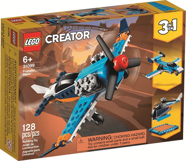 Image of LEGO Propeller Plane packaging