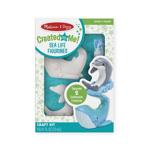Image of Decorate Your Own Sea Life Figurines in packaging