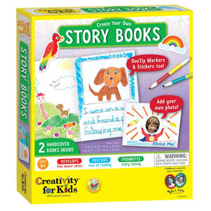 Image of Create Your Own Story Books Packaging