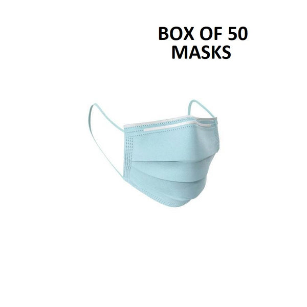Face Masks Pack of 50 ~ Free Shipping or Local Pick up - CELL4LESS