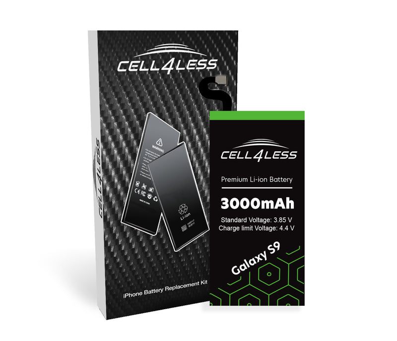 Samsung Galaxy S9 Battery Replacement Kit Compatible- 3000 mAh (Samsung Galaxy S9) - CELL4LESS