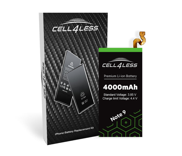 Samsung Note 9 Battery Replacement Kit Compatible - 4000 mAh Samsung Note 9 - CELL4LESS