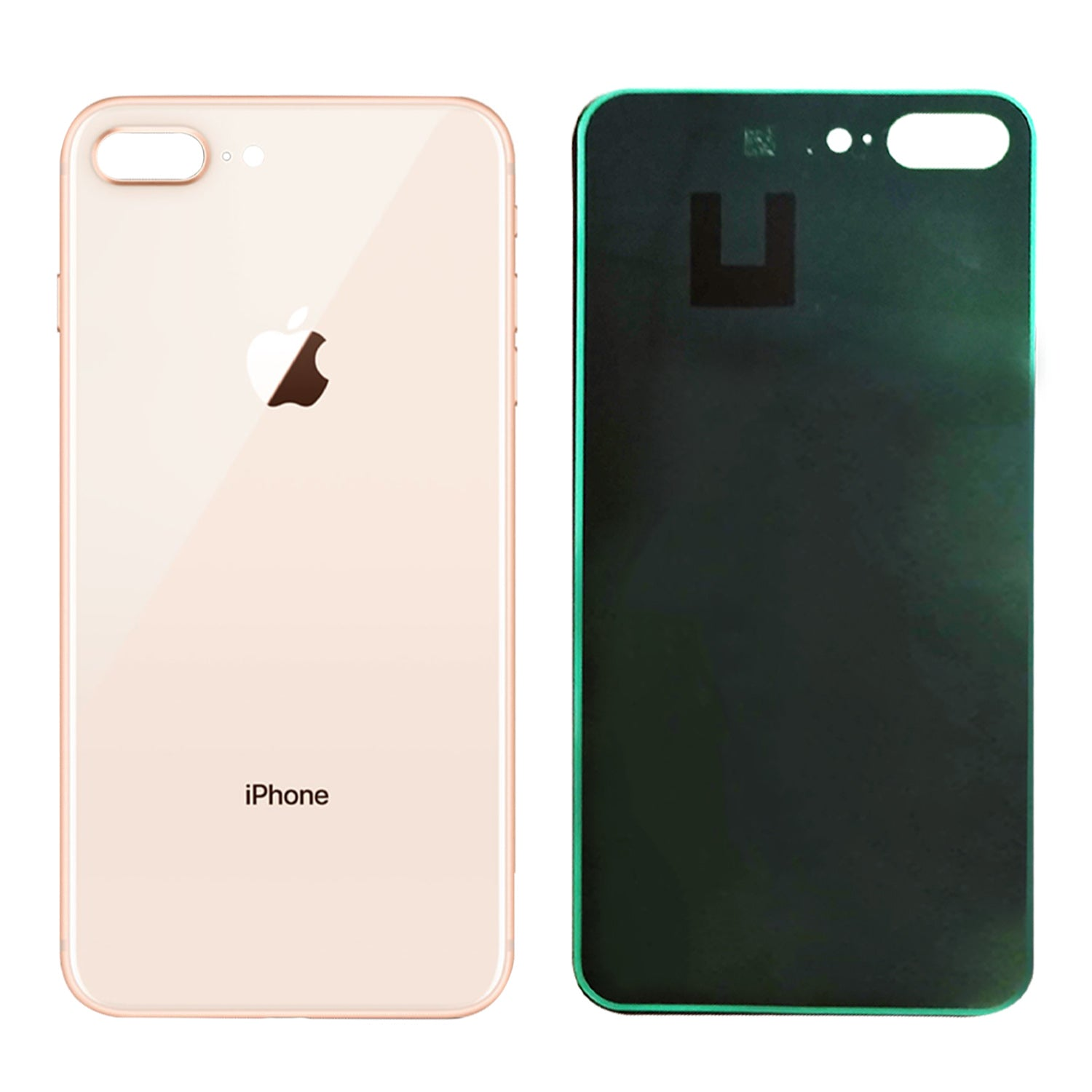 online retailer 289a7 1404d Apple iPhone 8 Plus Back Glass GOLD OEM Replacement Battery Door Cover w/  Adhesi