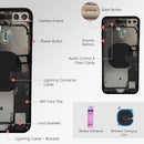 Apple iPhone 8 PLUS SPACE GRAY Rear Housing Midframe Assembly w/ Pre-Installed Components - CELL4LESS