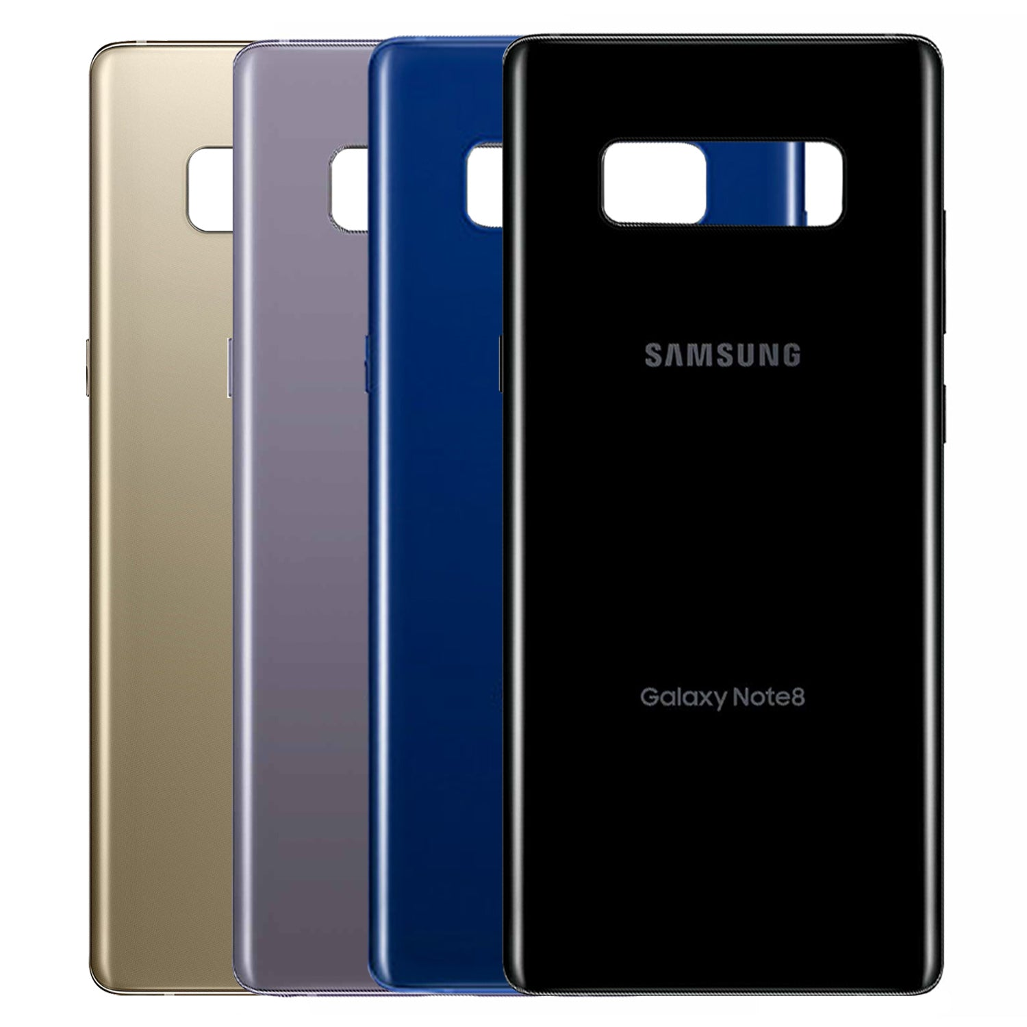Samsung Galaxy Note 8 Back Glass Panel Battery Door Cover Housing