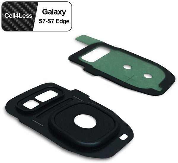 Samsung Galaxy S7 / S7 EDGE Rear Camera Lens and Frame Replacement for G930 / G935 Models - CELL4LESS