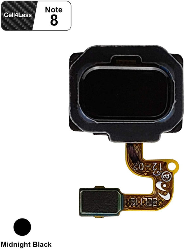 Fingerprint Sensor with Flex Cable Connector for Samsung Galaxy Note 8 N950 Models - CELL4LESS