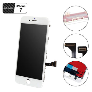 iPhone 7 WHITE LCD Screen Replacement Kit (4.7 Inch) - CELL4LESS