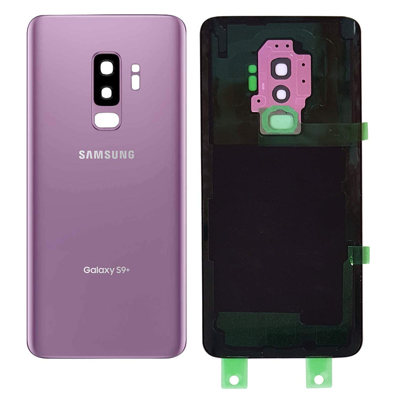 Samsung Galaxy S9+ PLUS Back Glass Replacement with Camera Lens Installed - Removal Tool Included - G965 - CELL4LESS
