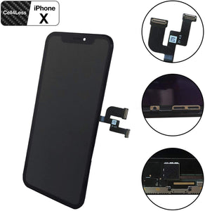 Apple iPhone X OLED Touch Screen Digitizer Replacement Assembly Kit