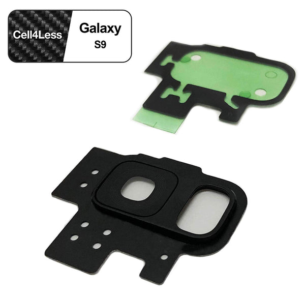 Samsung Galaxy S9 Rear Camera Lens and Frame Replacement for G960 Models - CELL4LESS