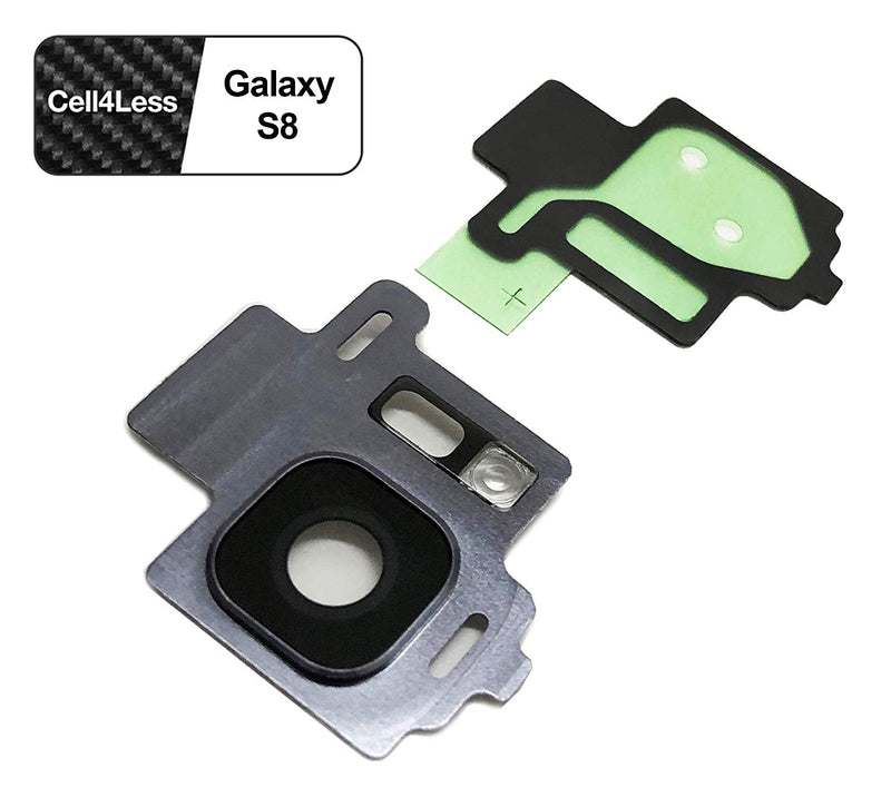 Samsung Galaxy S8 Rear Camera Lens and Frame Replacement for G950 Models - CELL4LESS