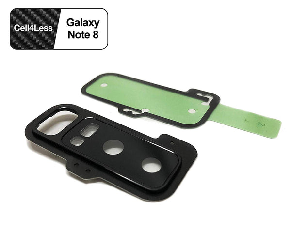 Samsung Galaxy Note 8 Rear Camera Lens and Frame Replacement for N950 Models - CELL4LESS