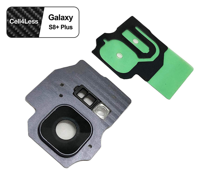 Samsung Galaxy S8+ PLUS Rear Camera Lens and Frame Replacement for G955 Models - CELL4LESS