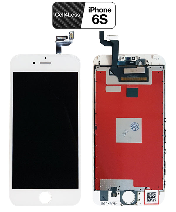 iPhone 6S WHITE LCD Screen Replacement Kit (4.7 Inch) - CELL4LESS