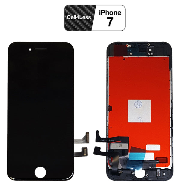 iPhone 7 BLACK LCD Screen Replacement (4.7 Inch) - CELL4LESS