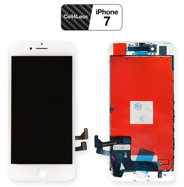 iPhone 7 WHITE LCD Screen Replacement (4.7 Inch) - CELL4LESS