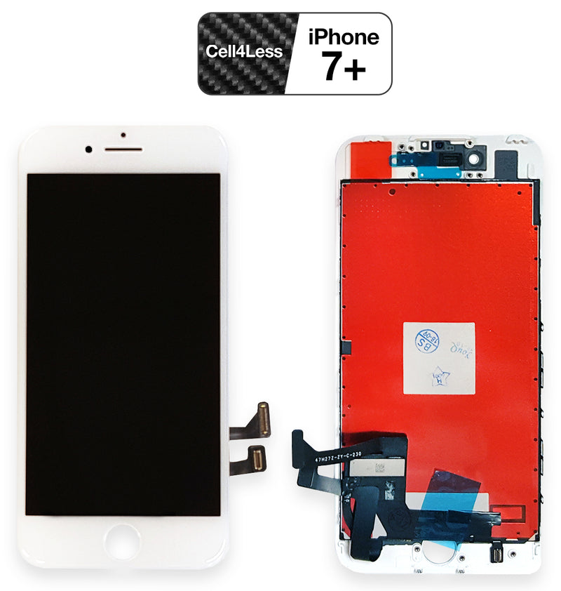 iPhone 7 PLUS WHITE LCD Screen Replacement Kit (5.5 Inch) - CELL4LESS